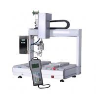 Duplex 4 axis soldering machine